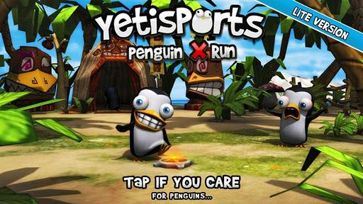 Yetisports Penguin X Run