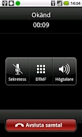 Screenshot of AllTele VoIP