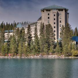 Fairmont Chateau Lake Louise by Keri Harrish - Landscapes Travel