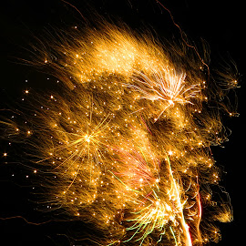 Fireworks by Richard Lawes - Novices Only Street & Candid
