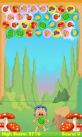 Screenshot of Fruit Bubble Shooter