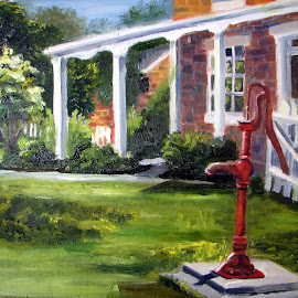 Kimball's Water Pump by Patty Bingham - Painting All Painting ( water pump )