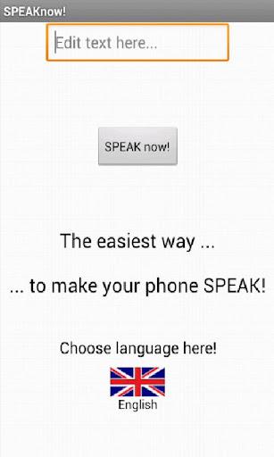 SPEAKnow