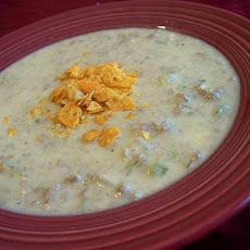 Weight Watchers Slow-Cooker Cheeseburger Soup