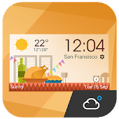 daily weather report clock APK for Lenovo