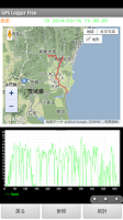 Screenshot of GPS Logger Free