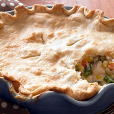 Deep Dish Leftover Turkey Pot Pie