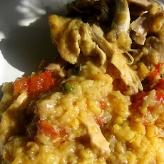 Crock Pot Arroz Con Pollo (Spanish Chicken With Rice)