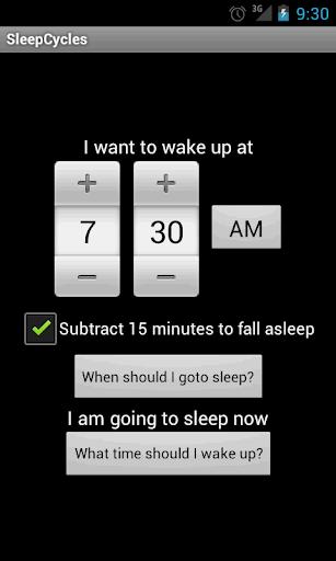 睡眠サイクル