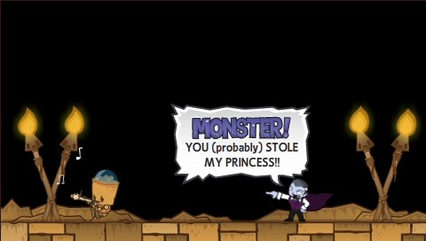 Monsters (Probably) Stole My Princess!