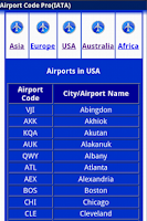 Screenshot of Airport Code Pro (IATA)