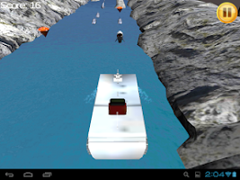 Screenshot of Cruise Ship River Run 3D TAB