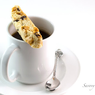 Chocolate Chip Butterscotch Biscotti