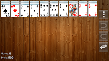 Screenshot of Atlas card games