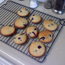 Fresh Blueberry Drop Cookies