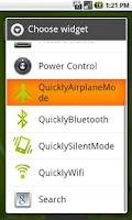 Screenshot of QuicklyAirplaneMode
