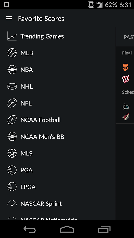 Yahoo Sports Screenshot 8