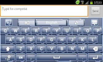 Screenshot of Go Keyboard Galactica