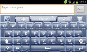 Screenshot of Go Keyboard Galactica
