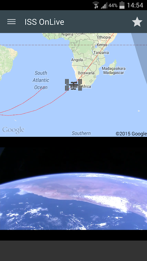 ISS onLive: Live Earth cameras Screenshot 8