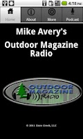 Screenshot of Mike Avery's Outdoor Magazine