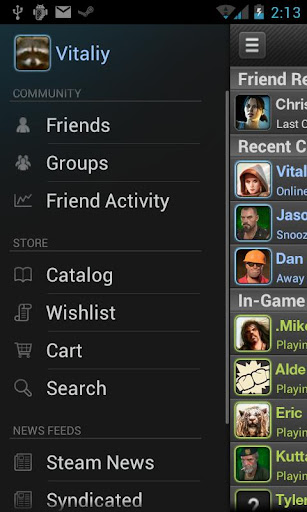 steam for android screenshot