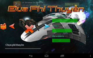Screenshot of Đua Phi Thuyền HD v2014
