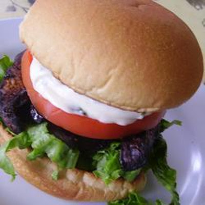 Balsamic Portabello Burger