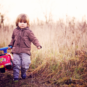 My Truck by Claire Conybeare - Chinchilla Photography - Babies & Children Toddlers ( countryside, england, winter, mud, little boy, toddler, cute, outside )