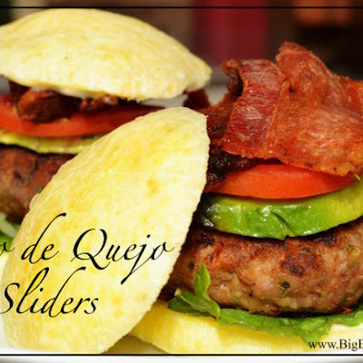 Pao de Quejo Sliders