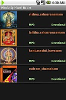 Screenshot of Hindu Spiritual Radio