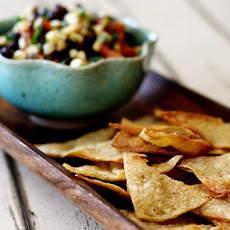 Baked Cumin Chipotle Lime Tortilla Chips