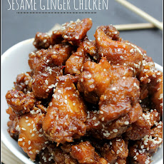 """Take-Out"" Sesame Ginger Chicken"