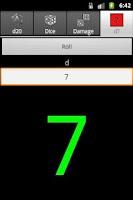 Screenshot of d20 Dice Calculator Free