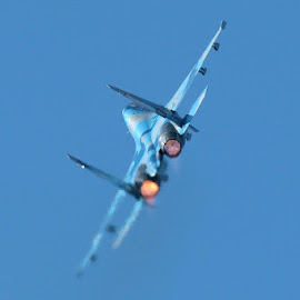 Sukhoi Su-27 by Andy Cíger - Transportation Airplanes