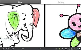 Screenshot of Kids Coloring Book