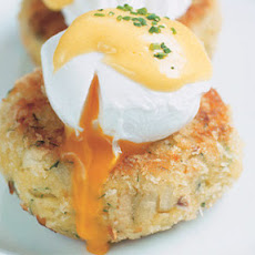 The Wolseley smoked haddock fishcakes with poached eggs