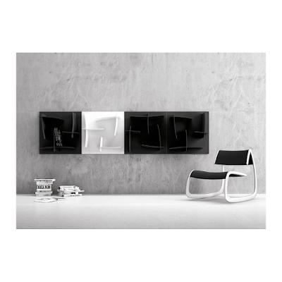acheter biblioth que arigato blanche p rols chez la suite dilengo. Black Bedroom Furniture Sets. Home Design Ideas