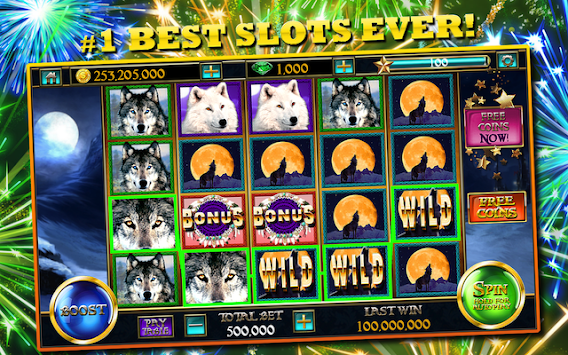 Slots™ Wolf FREE Slot Machines APK screenshot thumbnail 11