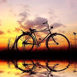 pit meneh wae by Indra Prihantoro - Transportation Bicycles