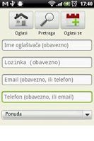 Screenshot of Oglasna Tabla