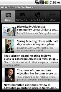 Adventist News Network - screenshot