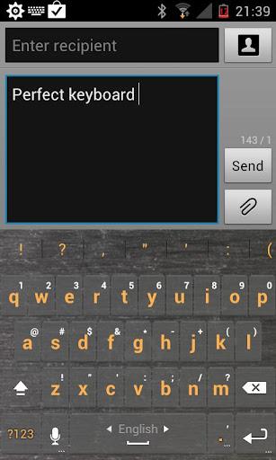 Metal Keyboard Skin