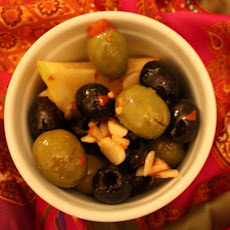 Marinated Moroccan Olives