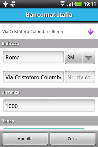 Bancomat Italia