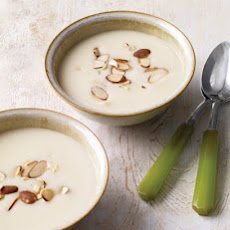 Parsnip Soup with Toasted Almonds