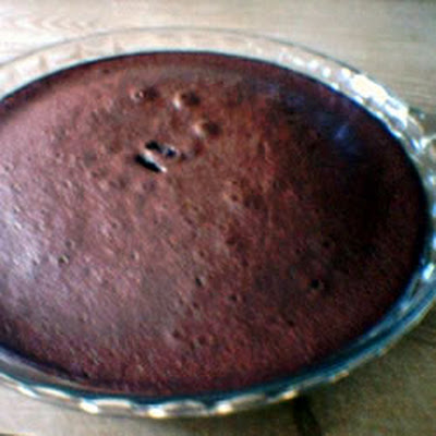 Impossible Brownie Pie