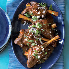 Lamb Shanks Adobo