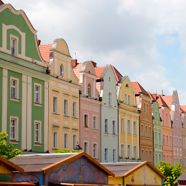 A walk through Poland by Liz Childs - Buildings & Architecture Other Exteriors ( colorful, pottery, architecture, poland,  )