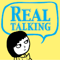 English Restart REAL talking icon